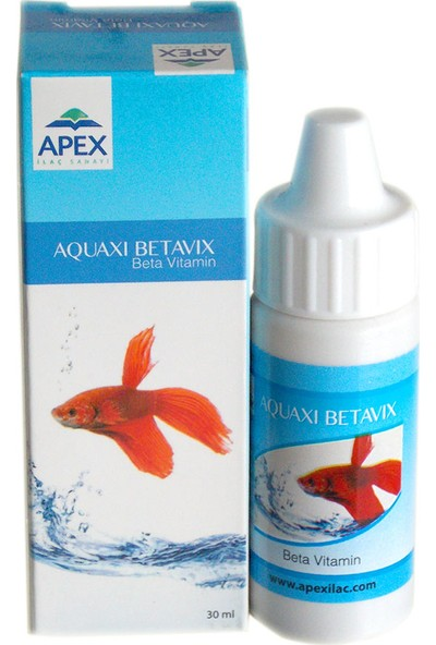 Apex Aquaxi Betavix(Beta Balık Vitamini)