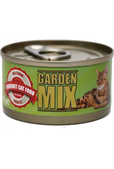 Gardenmix G.Mix (Yeşil) Jöle Sığır Etli 85 Gr