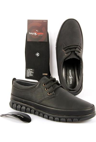 Bay Pablo F420-01 Erkek Ayakkabı + Çorap