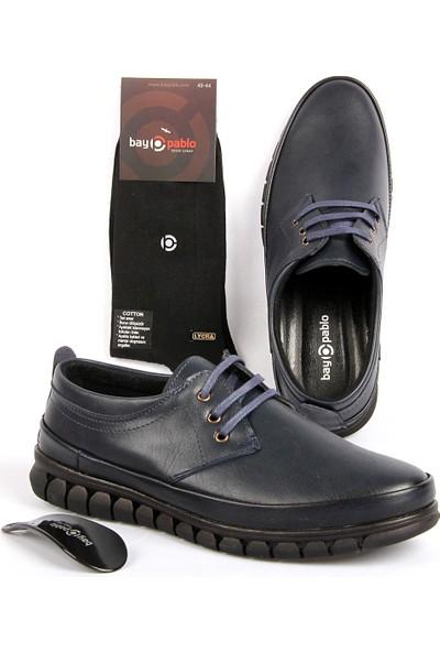 Bay Pablo F420-02 Erkek Ayakkabı + Çorap