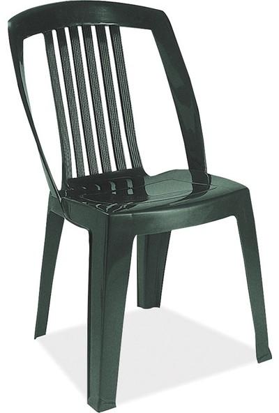 Papatya Favori Sandalye Plastik Koyu Yeşil