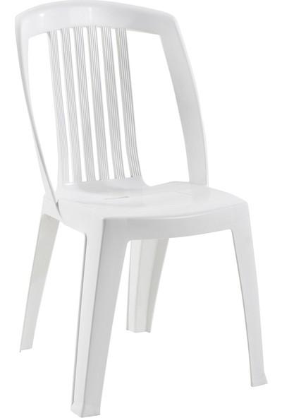 Papatya Favori Sandalye Plastik Beyaz
