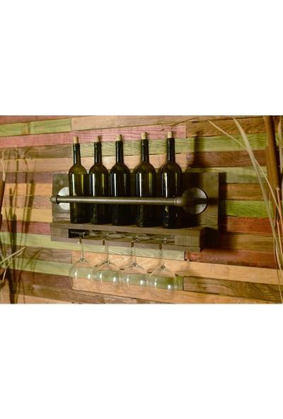 Platto Creative Works Dekoratif Şaraplık