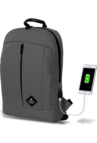 My Valice Smart Bag GALAXY Usb Şarj Girişli Sırt Çantası