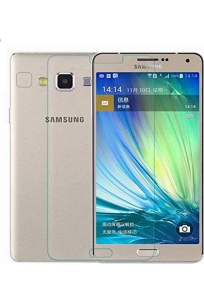 Orange Samsung A7 2.5D Ultra Şeffaf Cam Ekran Koruma