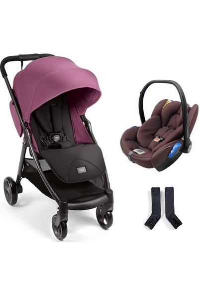 Mamas & Papas Armadillo Travel Sistem Bebek Arabası Plum Wine