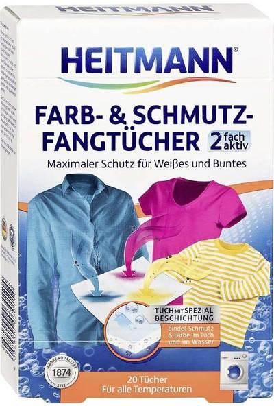Heitmann Çamaşırlarda Renk Koruyucu Mendil