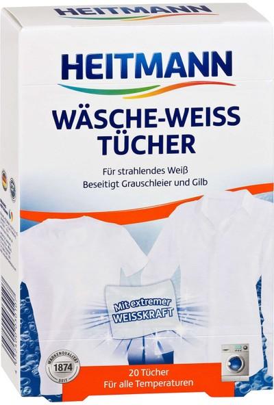 Heitmann Beyaz Çamaşır Temizleme Mendili