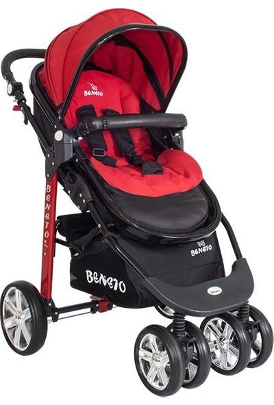 Beneto BT520 Trio Sport Line Bebek Arabası Kırmızı