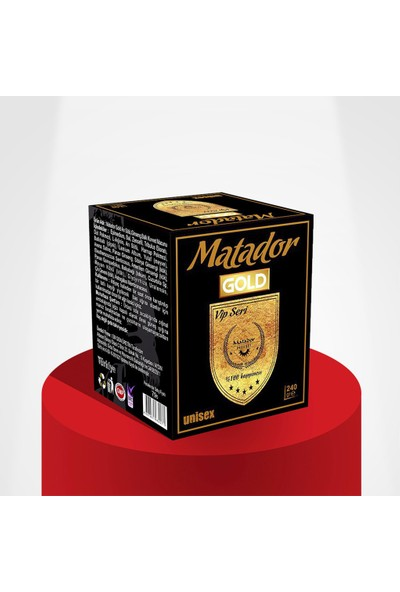 Matador Gold Ballı Ginsengli Macun 240gr
