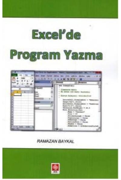 Excel'de Program Yazma - Ramazan Baykal