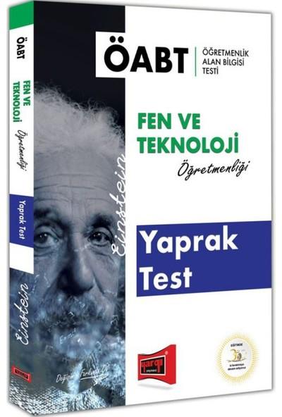 Yargı Yayınevi ÖABT EİNSTEİN Fen ve Teknoloji Öğretmenliği Yaprak Test