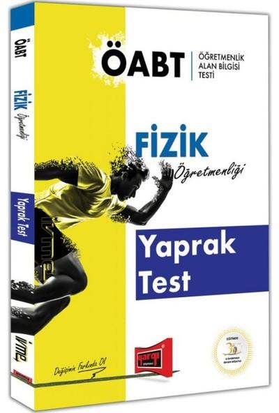 Yargı Yayınevi ÖABT İVME Fizik Öğretmenliği Yaprak Test
