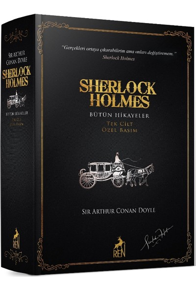 Sherlock Holmes Bütün Hikayeler Tek Cilt Özel Basım - Sir Arthur Conan Doyle