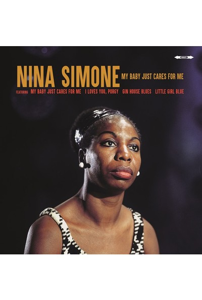 Nina Simone - My Baby Just Cares For Me (Plak)