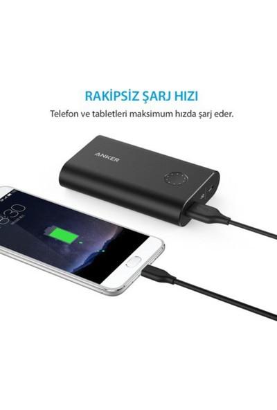 Anker Powerline USB-C to USB 3.0 Type-C Şarj/Data Kablosu 0.9 Metre - Siyah - A8163