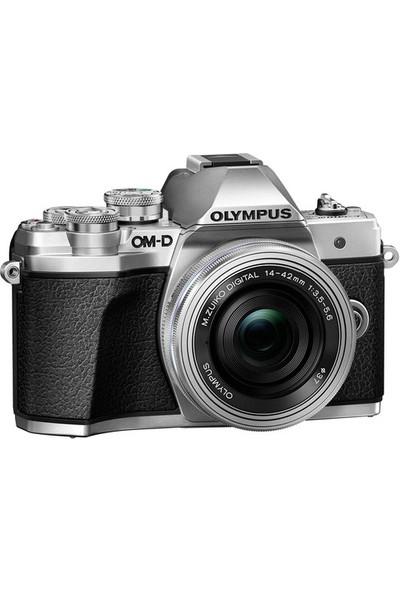 Olympus OM-D E-M10 Mark III + 14-42mm Lens Silver