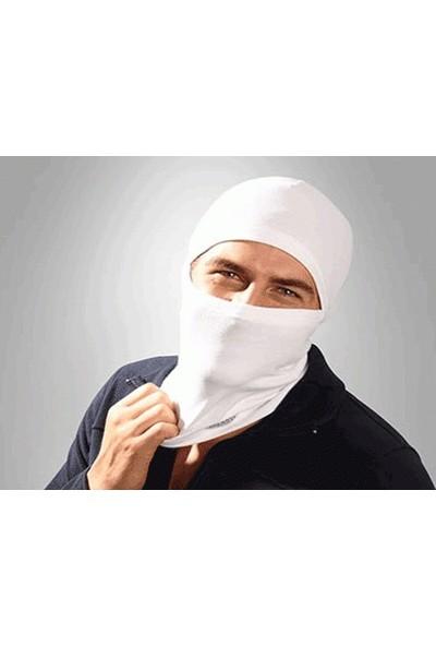 Buffer Termal Kar Maskesi Beyaz