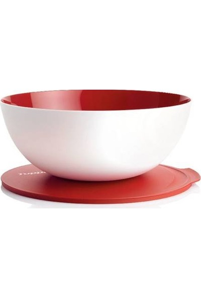 Tupperware Berrak Servis 5 Litre ( Kırmızı )