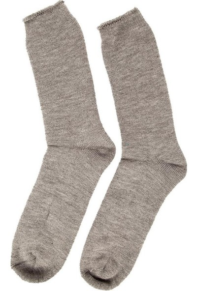 2As Termal Çorap Gri