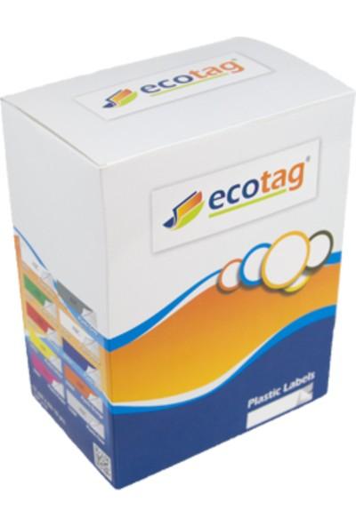 Ecotag Kağıt Şerit Etiket 12 mm x 4 mt