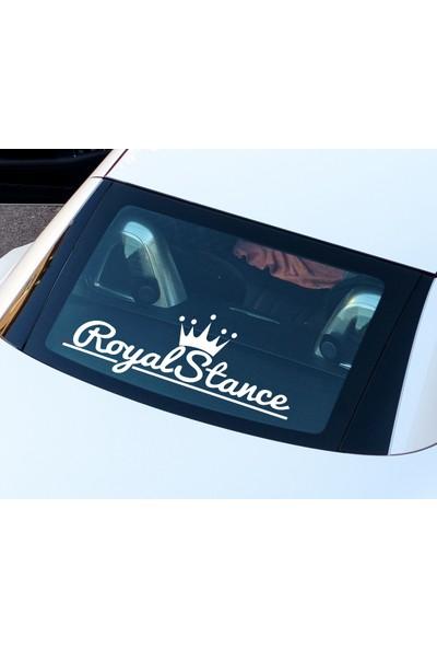 Royal Stance - Oto Sticker