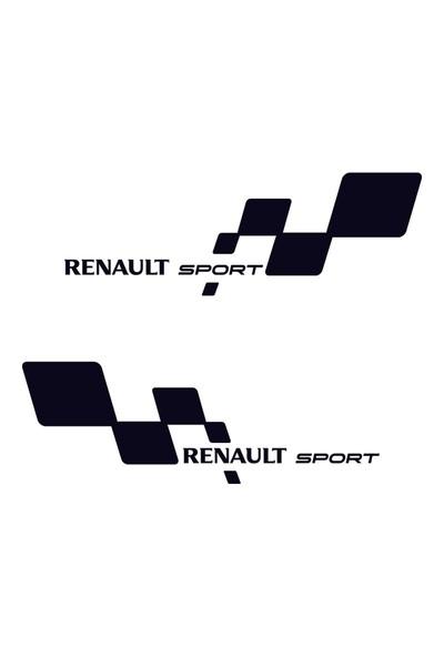 Renault Sport Sağ Sol Set - Oto Sticker