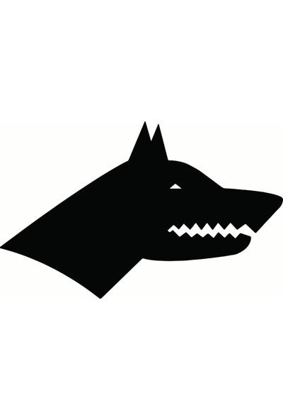 Göktürk Bayrağı - Oto Sticker