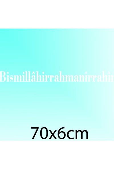 Besmele - Oto Sticker