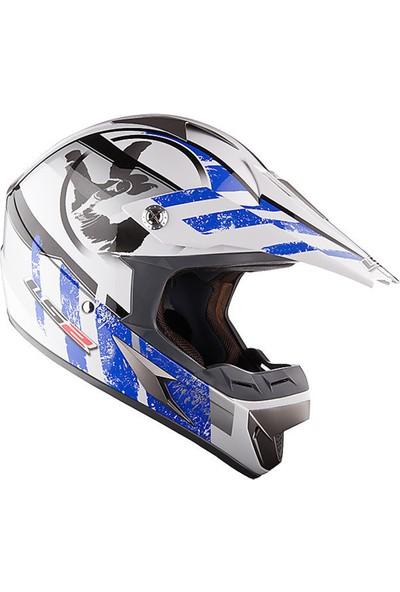 Ls2 Mx433 Stripe Motosiklet Kaskı