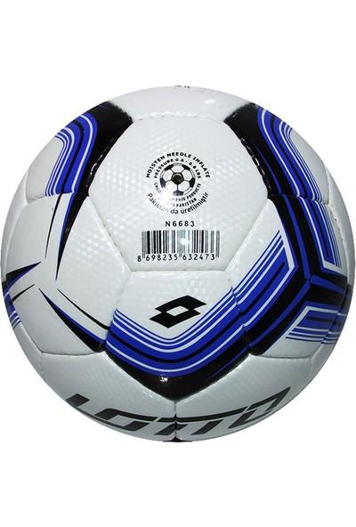 Lotto Ball Blank N6683 5 No El Dikişli Mavi Futbol Topu N6683