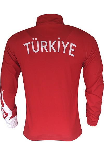 Lotto Suit Fire Pl Red/White/Black Eşofman Takımı (Milli Takım) R