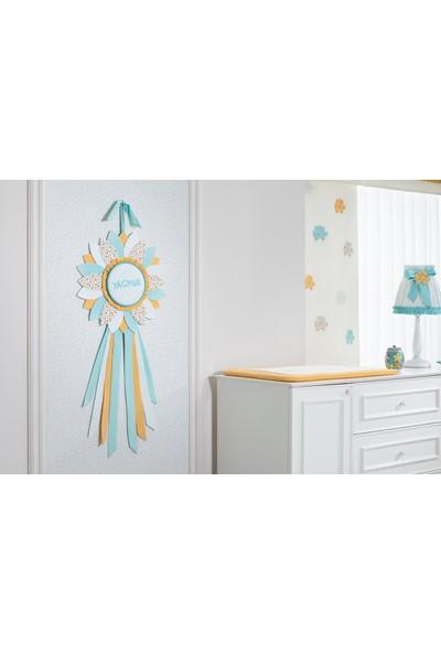 My Wish Flowers Bebek Odası Kapı Süsü