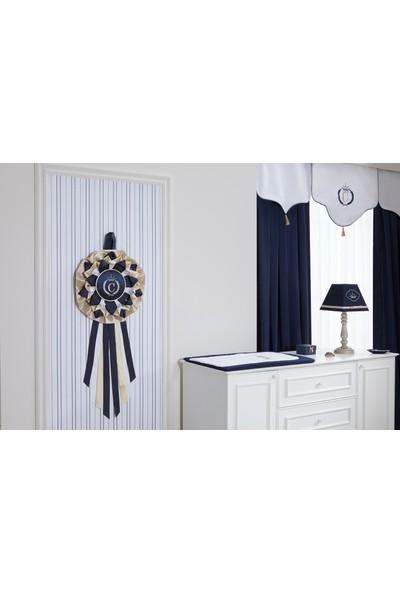 My Wish Royal Blue Bebek Odası Kapı Süsü