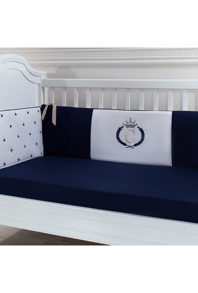 My Wish Royal Blue Bebek Yatak Kenar Koruyucu