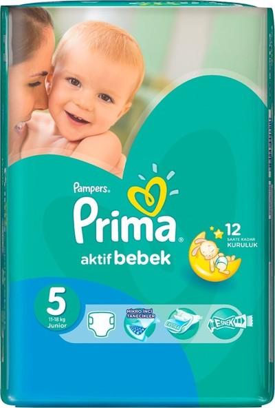 Prima Aktif Bebek Junior Bebek Bezi 5 Numara 23 Adet