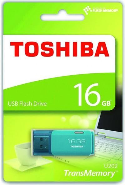 Toshiba 16 Gb Bellek Usb 2.0 Hayabusa Mavi