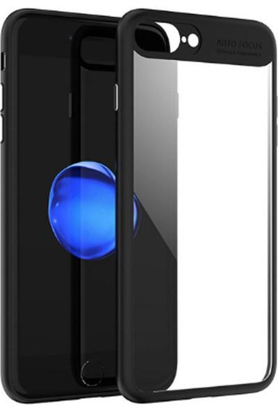 CoverZone Apple iPhone 6 Plus Kılıf Clear Pc Rubber + Cam