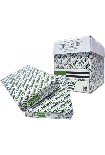Copier Bond A4 80 Gr/m² Fotokopi Kağıdı (5'li Paket)