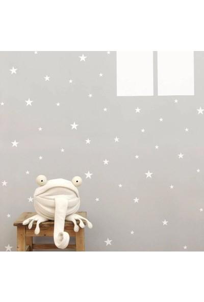 Decolight Beyaz Yıldız Yağmuru Sticker