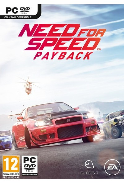 Electronic Arts Pc Need For Speed Payback