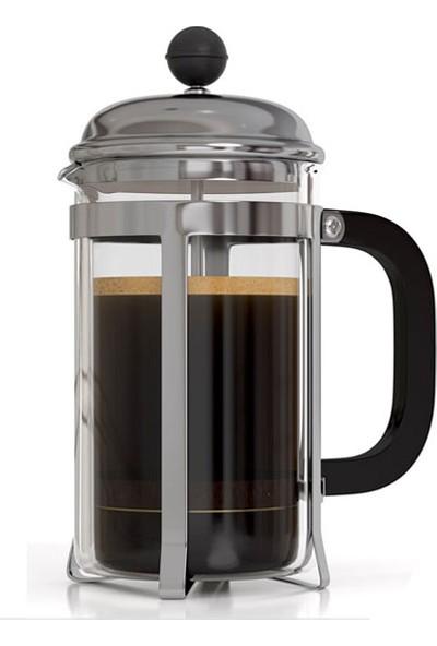 Epinox French Press Filtre Kahve & Bitki Çayı Demleme Presi 600 Ml