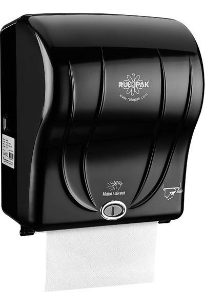 Rulopak R-1301 Sensörlü Havlu Makinası 21 Cm - Siyah