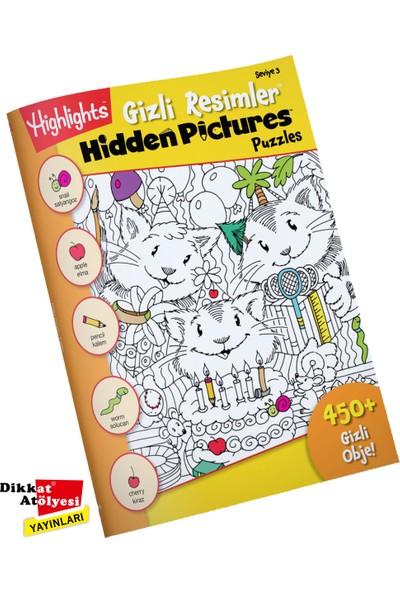 Highlights Hidden Pictures Gizli Resimler 4'lü Set (6 Yaş Ve Üzeri)