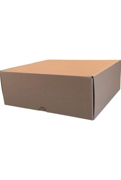 30 Adet Koli Kutu 2,35 Desi (28,5X25X10Cm) Paket Taşıma Baskısız