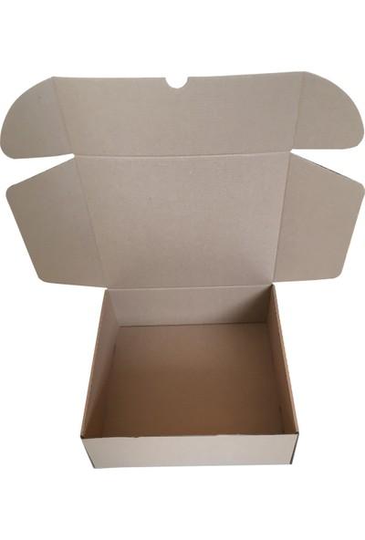50 Adet Koli Kutu 2,35 Desi (28,5X25X10Cm) Paket Taşıma Baskısız