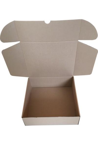 10 Adet Koli Kutu 2,35 Desi (28,5 x 25 x 10 cm) Paket Taşıma Baskısız