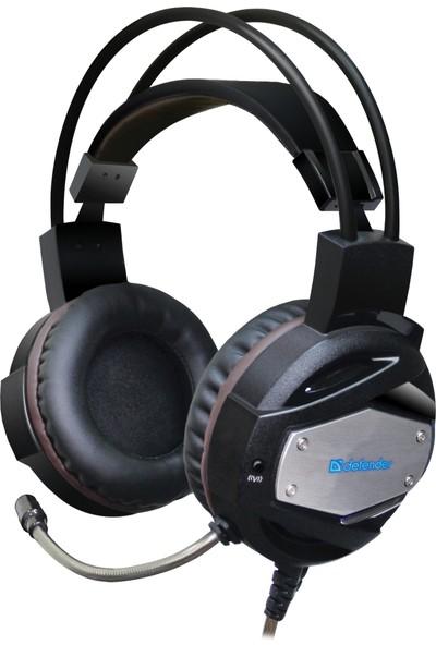 Defender Oyuncu Kulaklık Warhead G-500 Vibro (Titreşim) Kahverengi 2.5M - 64150