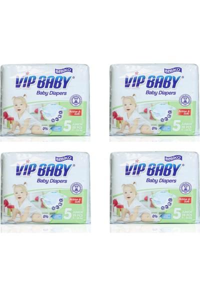 Bebiko Vip Baby Bebek Bezi Active & Soft Junior 5 Beden 116 Adet