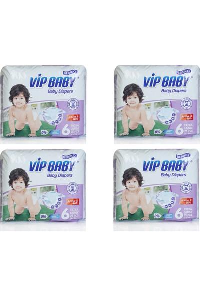 Bebiko Vip Baby Bebek Bezi Active & Soft 6 Beden 104 Adet